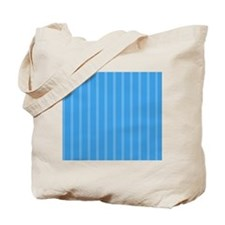 Duvet King Aqua owl stripes aqua Tote Bag