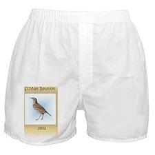 family reunion lark labeled Boxer Shorts