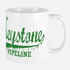 Keystone Pipeline green Mug