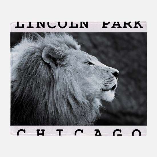 Lincoln-Park-Chicago Throw Blanket