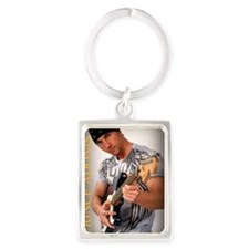 guitar Portrait Keychain