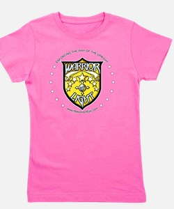 WarriorOfLight_Badge (Gold  White) Girl's Tee