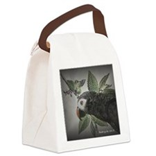 parrotgrey Canvas Lunch Bag