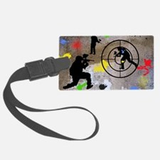 Paintball Aim Pillow Luggage Tag