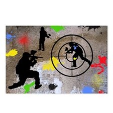 Paintball Aim Pillow Postcards (Package of 8)