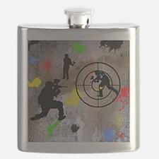 Paintball Aim Queen Flask