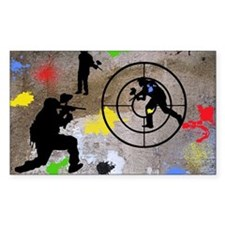 Paintball Aim Pillow Decal