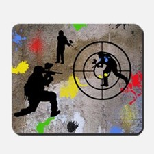 Paintball Aim Queen Mousepad