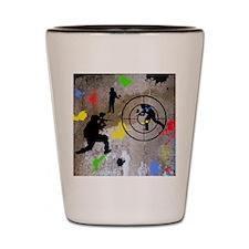 Paintball Aim Queen Shot Glass