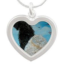 doodwallet Silver Heart Necklace