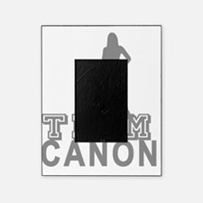 10x10_apparel.TEAM cannon.grey copy Picture Frame