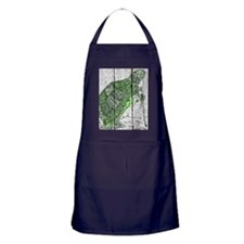 turtle With Cane Apron (dark)