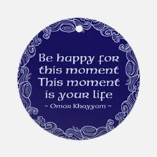This Moment Ornament (Round)