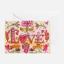 LoveBeMine Greeting Card