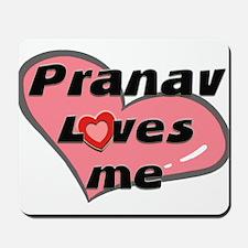 pranav loves me  Mousepad