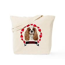 dexheartframebannerblack Tote Bag
