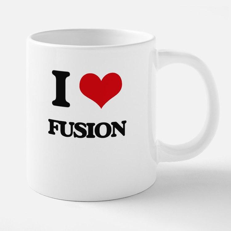 I Love Fusion Mugs