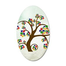 Autism Tree of Life Wall Decal
