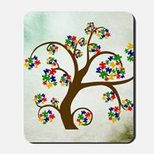 Autism Tree of Life Mousepad