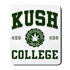 KUSH_COLLEGE_ Mousepad