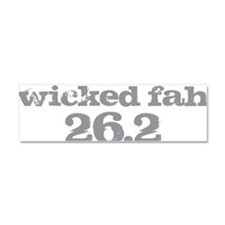 Wicked Fah Car Magnet 10 x 3