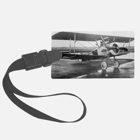 Final Weimaraner Dog on sopwith  Luggage Tag