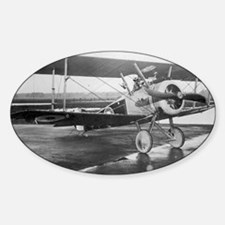 Final Weimaraner Dog on sopwith cam Decal