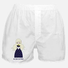 Star Light Star Bright Heart Boxer Shorts