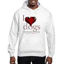 ilovedogsbutton Hoodie