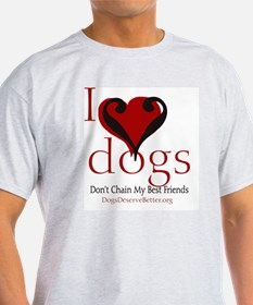ilovedogsbutton T-Shirt
