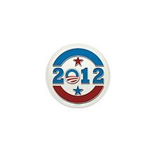 Barack Obama 2012 Mini Button