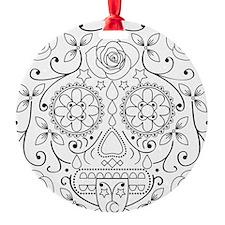 calavera_glass Ornament