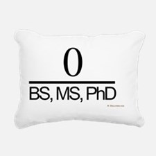 Three Degrees Below Zero Rectangular Canvas Pillow