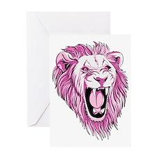 lionpink Greeting Card