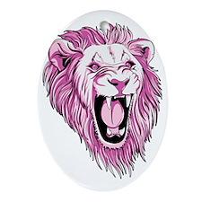 lionpink Oval Ornament