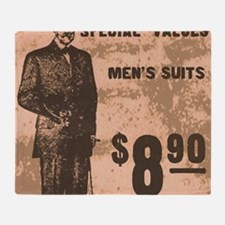 Mens Suits Throw Blanket