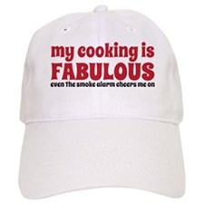 cooking copy Baseball Cap