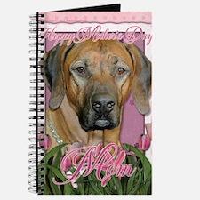PinkTulipsRhodesianRidgebackMOM_5x7_V Journal