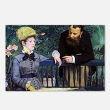 Coin Manet 2 Postcards (Package of 8)