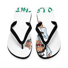 Ho Lee Chit Green Flip Flops