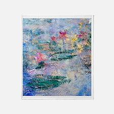 FF Monet 9 Throw Blanket