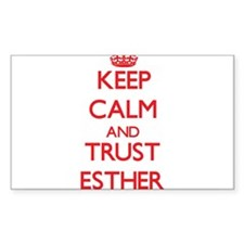 Keep Calm and TRUST Esther Decal