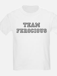 Team FEROCIOUS Kids T-Shirt