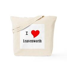 I Love Leavenworth Tote Bag