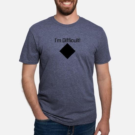 Im-Difficult-black T-Shirt