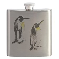 2 Penguins Flask