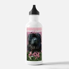 PinkTulipsNewfoundland Water Bottle