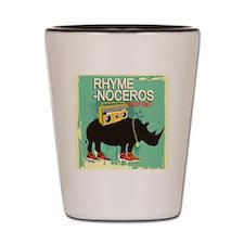 rhyme Shot Glass