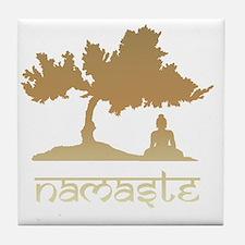 namaste8 Tile Coaster
