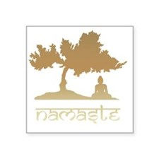 "namaste8 Square Sticker 3"" x 3"""